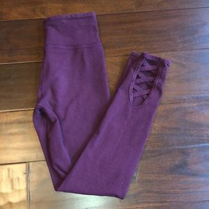 XS Adult Crop Wine Colored not purple